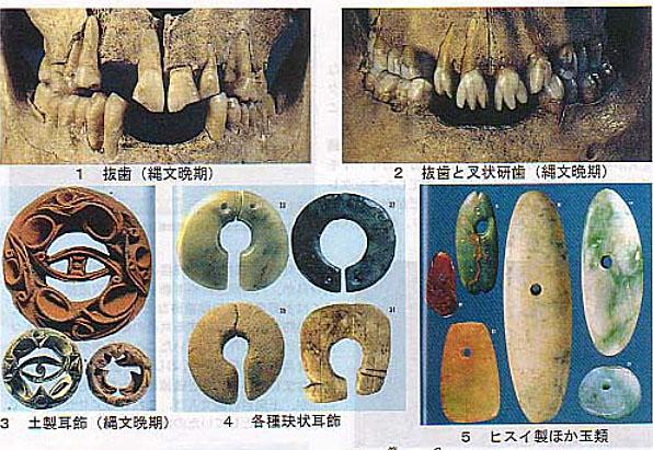 日本古代の装飾品